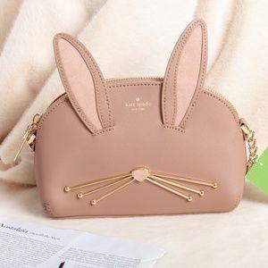 Kate Spade Desert Muse rabbit crossbody hilli bag